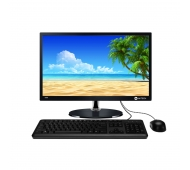 Моноблок AVtech AIO9240-23.5 LED, CPU J2900 Intel Celeron® Quad-Core 2.41Ghz up to 2.67 GHz /DDR3 2GB/HDD 500Gb/KB/Mouse